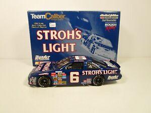 TEAM CALIBER 1/23 MARK MARTIN #6 STROH'S LIGHT 1989 FORD THUNDERBIRD *READ*