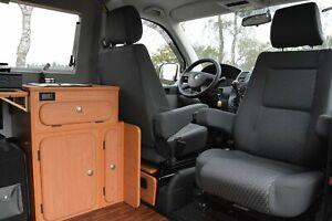 VW Bus T4 Drehkonsole mit TÜV-ABE DREHSOCKEL Sportscraft FLACHDREHKONSOLE Bulli