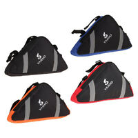 Triangle Cycling Bike Bicycle Front Tube Frame Pouch Bag Holder-Saddle-Pannier.