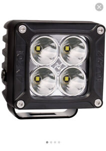 Anzo USA Rugged Vision Off Road LED Spot Lights Hella KC (1 Set Of Two)