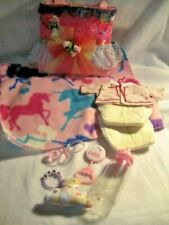 Handmade doll diaper bag  Bottle, Rattle, Pacifer and other accessories