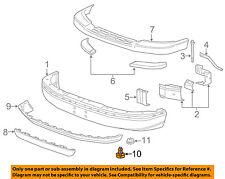 GM OEM Front Bumper-Air Deflector Pin Clip Retainer 15733971