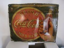 c11c6756b98 Plaque ancienne coca cola dans Objets Publicitaires de collection ...