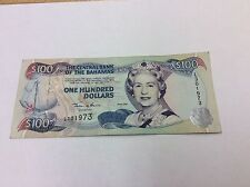 BAHAMAS 2000 P67 $100 NOTE QEII CONDITION: Circulated #973 BEST PRICE ON EBAY!