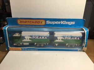 Matchbox Superkings K21 Ford Truck Lorry Transcontinental In box