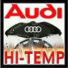 AUDI  HI - TEMP CAST VINYL BRAKE CALIPER DECALS STICKERS