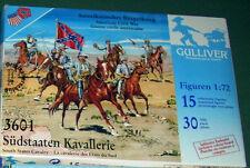 1/72 Rare Gulliver Confederate Cavalry ACW MIB plastic