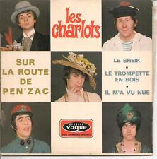 EP 4 TITRES--LES CHARLOTS--SUR LA ROUTE DE PEN'ZAC / LE TROMPETTE EN BOIS
