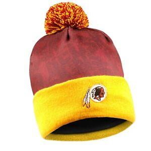 Washington Redskins NFL Team Logo Light Up Printed Beanie Hat