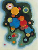 Wassily Kandinsky Deepened Impulse Giclee Art Paper Print Poster Reproduction