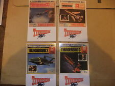 GERRY ANDERSON THUNDERBIRDS SET OF 8 DVD CARLTON CARDS MINI ALBUM EP CENTURY 21