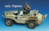 1/35 Resin German Schwimmwagen Crew 2 Soldiers Kit unpainted unassembled QJ120