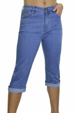 Unbranded Faded Capri, Cropped Jeans for Women