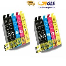 10cartucce COMPATIBILI Epson t1631 t1632 t1633 t1634 WF2510 2520 2650 2630 2760