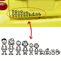 Family Member Car Sticker Car Decal Decoration Vinyl Art Decal For Car.Removable
