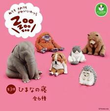 Takara Tomy Panda's ana Zoo Zoo Zoo Sleeping Animal Collection P3 Set 6pcs NEW