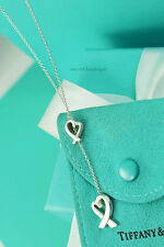 "AUTHENTIC Tiffany & Co. Loving Heart Lariat 16-18"" Adjustable (#855)"