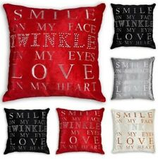 TWINKLE LOVE Crystal Sparkle Velvet Feel Cushion Covers or Filled Cushions