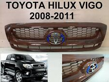 TOYOTA HILUX VIGO SR5 MK6 Front Grille Grill PARTS STYLE painted wood 2008-2011