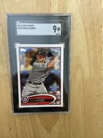 2012 Topps Update Bryce Harper RC SGC Graded 9 Mint
