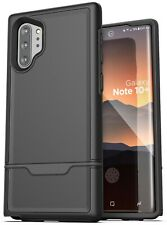 Samsung Galaxy Note 10 Plus Case Protective Full Body Rugged Cover Black