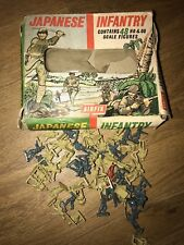 Airfix Japanese Infantry Boxed on Spruces Plus Bonus Figures