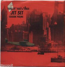 "ALPHAVILLE - Jet set - VINYL 7"" 45 ITALY 1985 NEAR MINT COVER VG+ CONDITION"