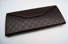 Gucci Brillenetui, Klappetui, mit Putztuch, klein, original verpackt, Faltbar