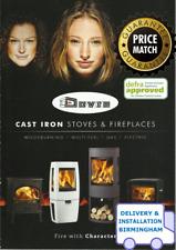 DOVRE Stoves DEFRA 2022 Log Wood Burning / Multifuel Stove Catalogue BIRMINGHAM