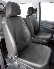 Kunstleder Transporter Sitzbezüge Mercedes Vito W639, 2 Einzelsitze, 06/03-05/14