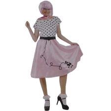 BNWT Ladies Size L 14 50s Bopper Costume Fancy Dress Fantastic Dress Scarf Belt