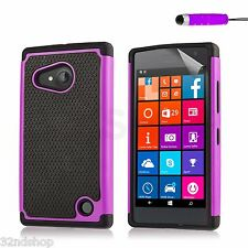 32nd Shockproof Heavy Duty Defender Case Cover for Microsoft LUMIA 650 - #2bs