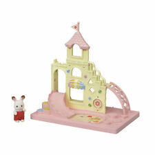SYLVANIAN FAMILIES S-64 CUTE CALICO CRITTERS CASTLE PLAY FIELD SET EP28460