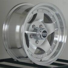 """15 inch Wheels Rims Chevy GMC Truck Astro 5 Lug 5x5 15x7"""" American Racing AR23"""