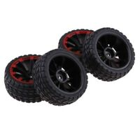 4x RC Car Tire &Wheel Rim for 1/10 HSP HPI Redcat  Accessory