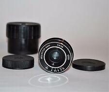 Der einzige auf Ebay! NEAR EXC M42 Mount UdSSR Pancake Industar - 69M Objektiv f2.8/28