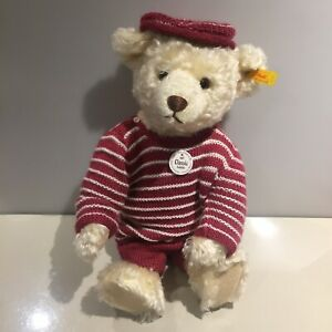 Steiff Teddy Bear 40cm classic 1907 027574 with growler voice