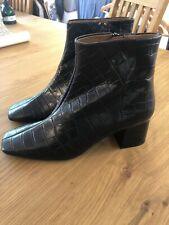 Ladies & Other Stories Leather Ankle Boots. New Eur 40