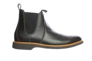 Cole Haan Mens Morris Black Olive Ankle Boots Size 9.5