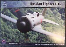 ARK MODELS 48006 Soviet/Russian Fighter I-16  X 2 + metal parts, special edition