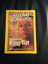 National Geographic Magazine June 2005 The New Face of King Tut his life / death