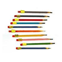 Dolls House 10 Pencils Miniature Study Office School Desk Accessory 1:12 Scale