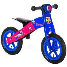 "Balance bike 12 "" Barcelona Disney boy kid wooden bicycle 12 inch Barca"