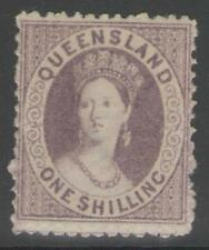 Mint Hinged Queensland Stamps