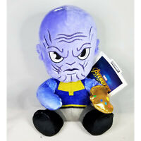 Kidrobot Marvel Avengers Phunny Thanos 8 Inch Plush Figure NEW IN STOCK