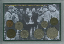 Wolverhampton Wanderers Wolves FC LEAGUE Champs CHAMPIONS Coin Fan Regalo Set 1954