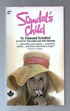 Scandal's Child by Edmund Schiddel  Erotic, Psychosexual Sleaze Pb 1969 Unread