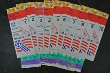 FIFA WORLD CUP 1994 TICKETS LOT OF 51  TICKETS