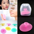 New Silicone Oval Blackhead Remover Facial Face Brush Cleansing Pad Tool Makeup