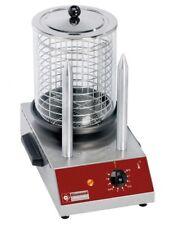 Elektrischer Würstchenwärmer Hot Dog Maker Wurstkocher 2 Spieße Gastlando